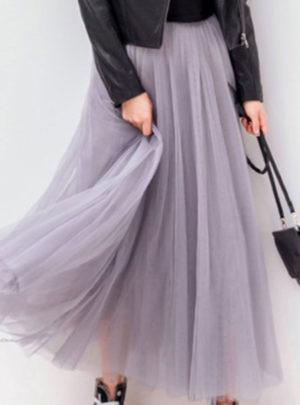 Women's Vintage Long Tutu Skirt