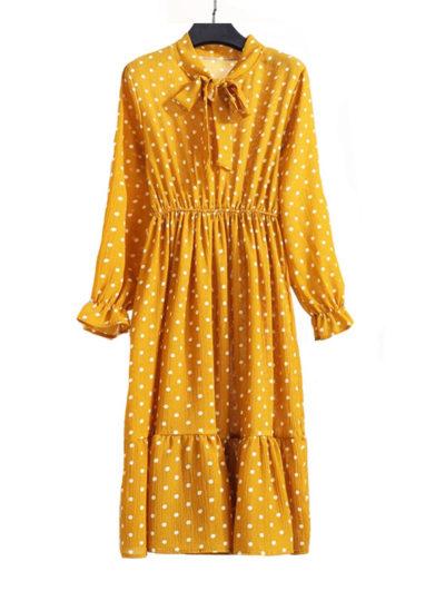 Women's A-Line Floral Printed Dresses