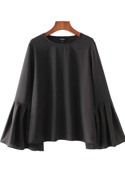 Women's Loose Flare Blouse