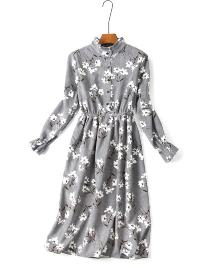 Women's Casual Floral Patterned Dress