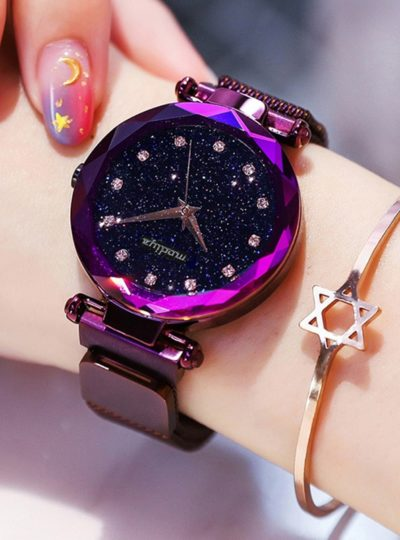 Starry Sky Design Women's Watch