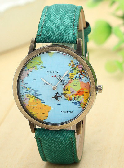 Travel Around The World Watches