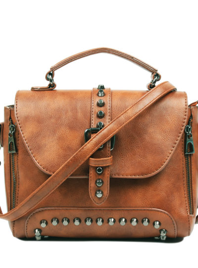 Women's Vintage Leather Shoulder Bag