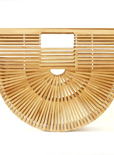 Women's Boho Style Straw Handbag