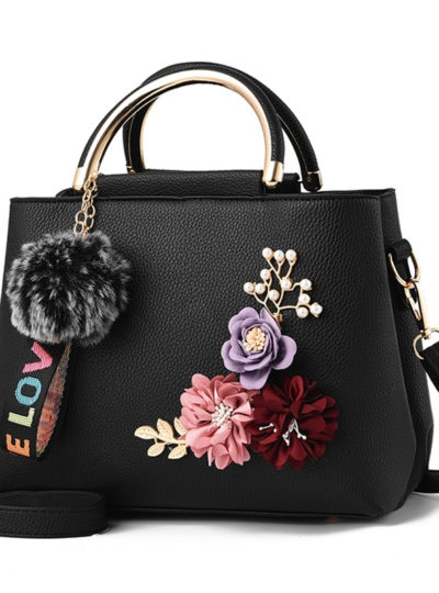 Pretty Women's Floral Handbag