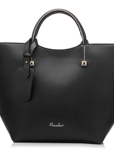 Women's Bucket Shaped Top-Handle Bag
