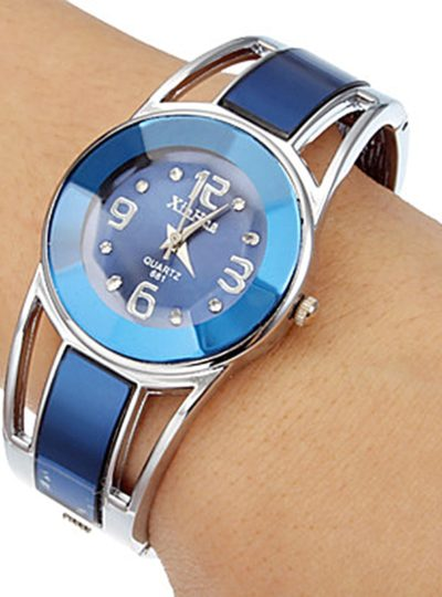 Elegant Women's Bangle Bracelet Watches